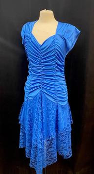Chest 38 waist 32 Stretchy blue dress.jp