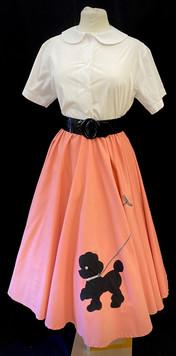 Skirt Medium - Peach poodle skirt.jpg