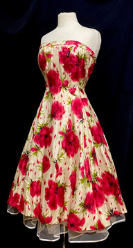 Chest 38 - strapless red floral.jpg