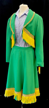 Chest 38 Waist 31 2 PC green and Gold -