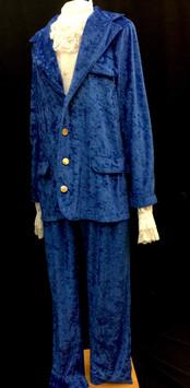Blue Velour Suit - Several Sizes.jpg