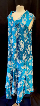 Chest 40 blue sleeveless