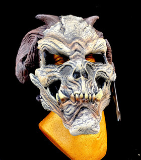 Demon Skull Latex Mask