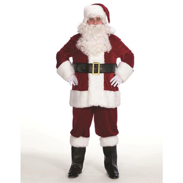 Velveteen Santa Claus Suit