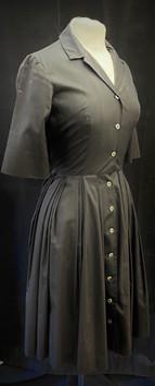 Chest 30 - black button down dress.jpg