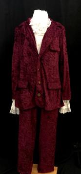 Maroon Velour Suit - Several Sizes.jpg