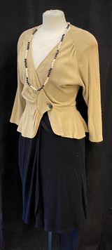 Chest 34 & 36 - Tan and black  - 2 avail