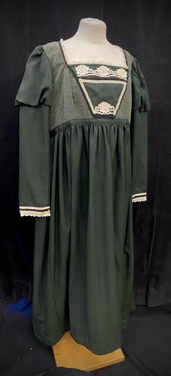 Chest 46 waist 42 dark green gown.jpeg