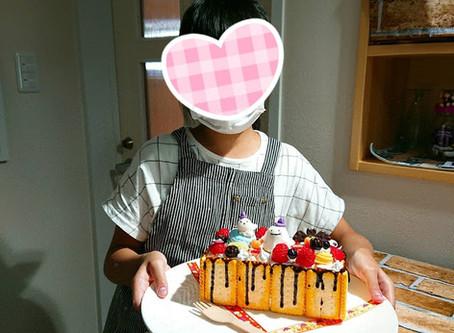 ハロウィンデコレーションケーキ始めました