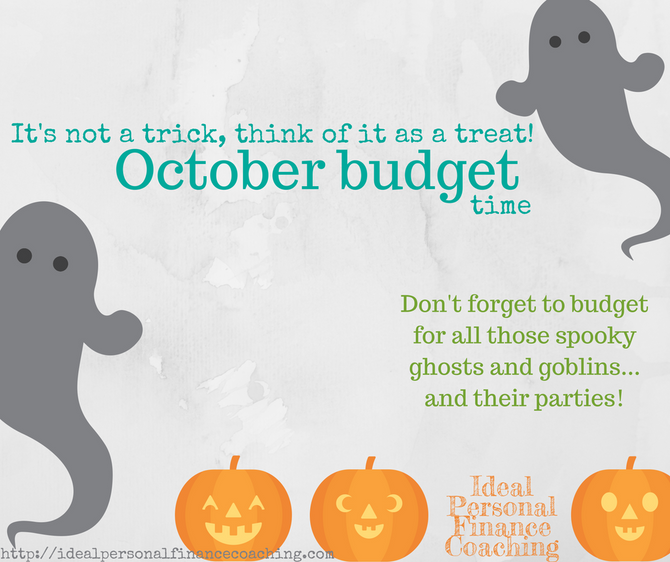 October budget time!