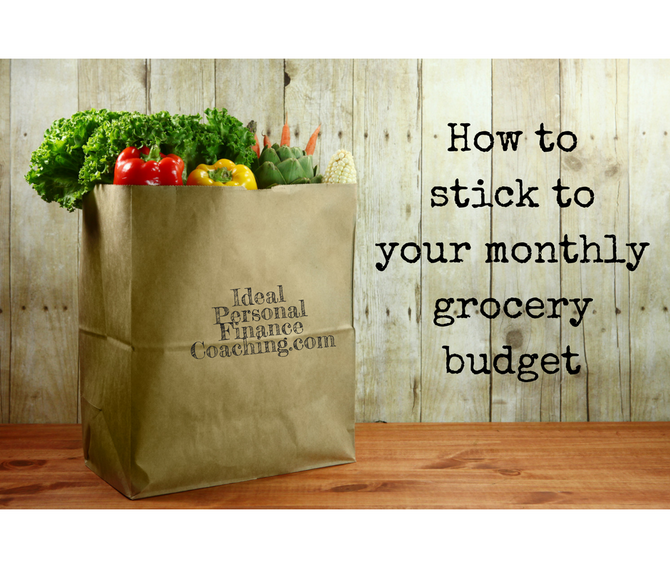 Sticking to your food budget