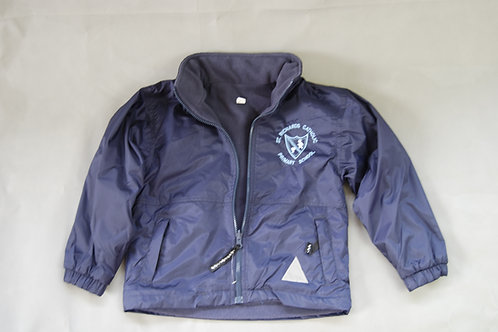 Reversible Jacket with school crest