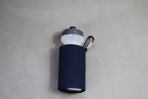 Bottle holder with sports bottle