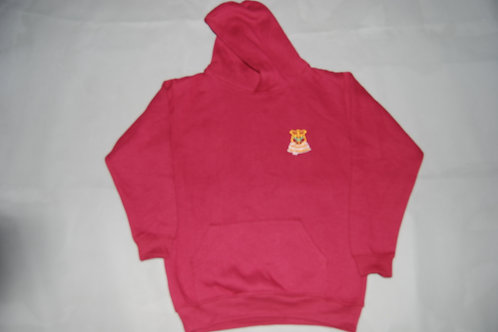 Old style Hooded Sweatshirt with School Crest