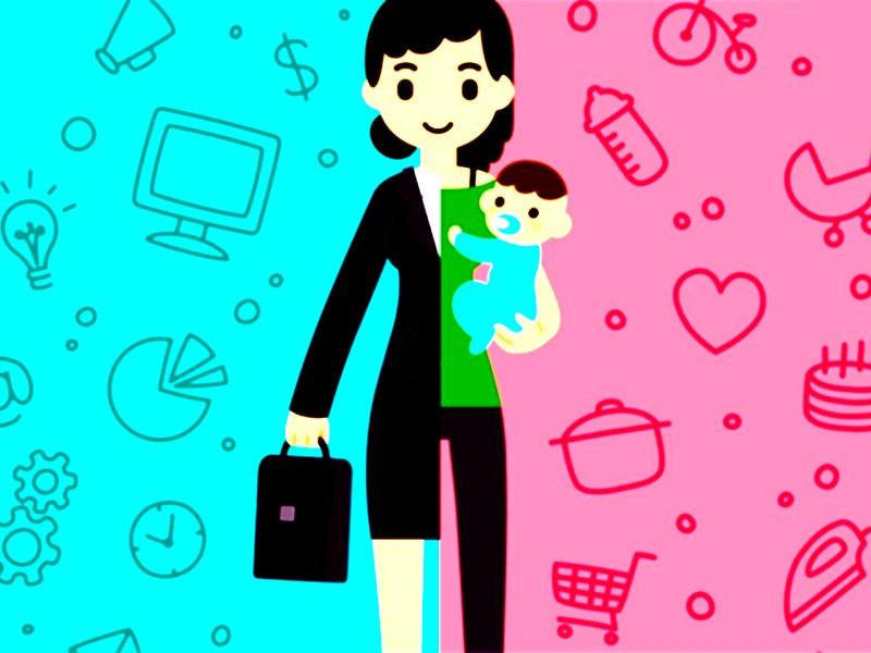 O desafio de ser mãe e profissional