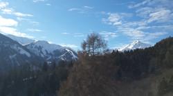 Vue sur le Col du Glandon  / Sambuis