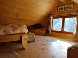 Chambre sous le toit
