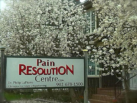View of Pain Resolution Centre at 521 Main Street Kentville NS