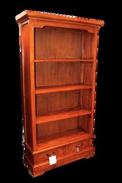 Surabaya 2 Drawer Rustic bookcase