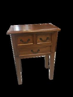 3 drawer phone table