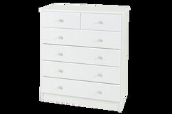 kingston                5 drawer split chest