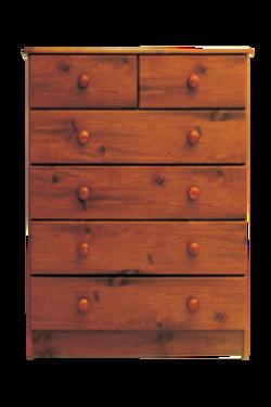 hunter hills            5 drawer split chest