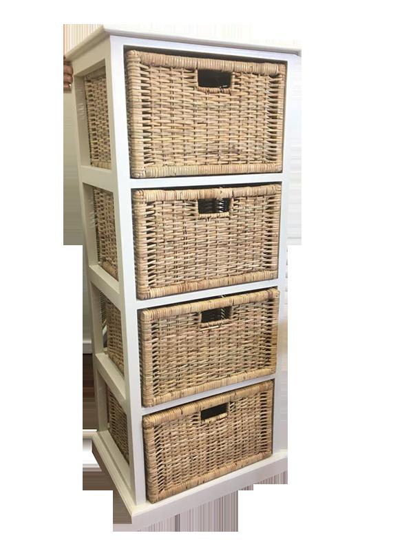 4 drawer cane