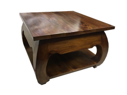 mohaogany opuim side table