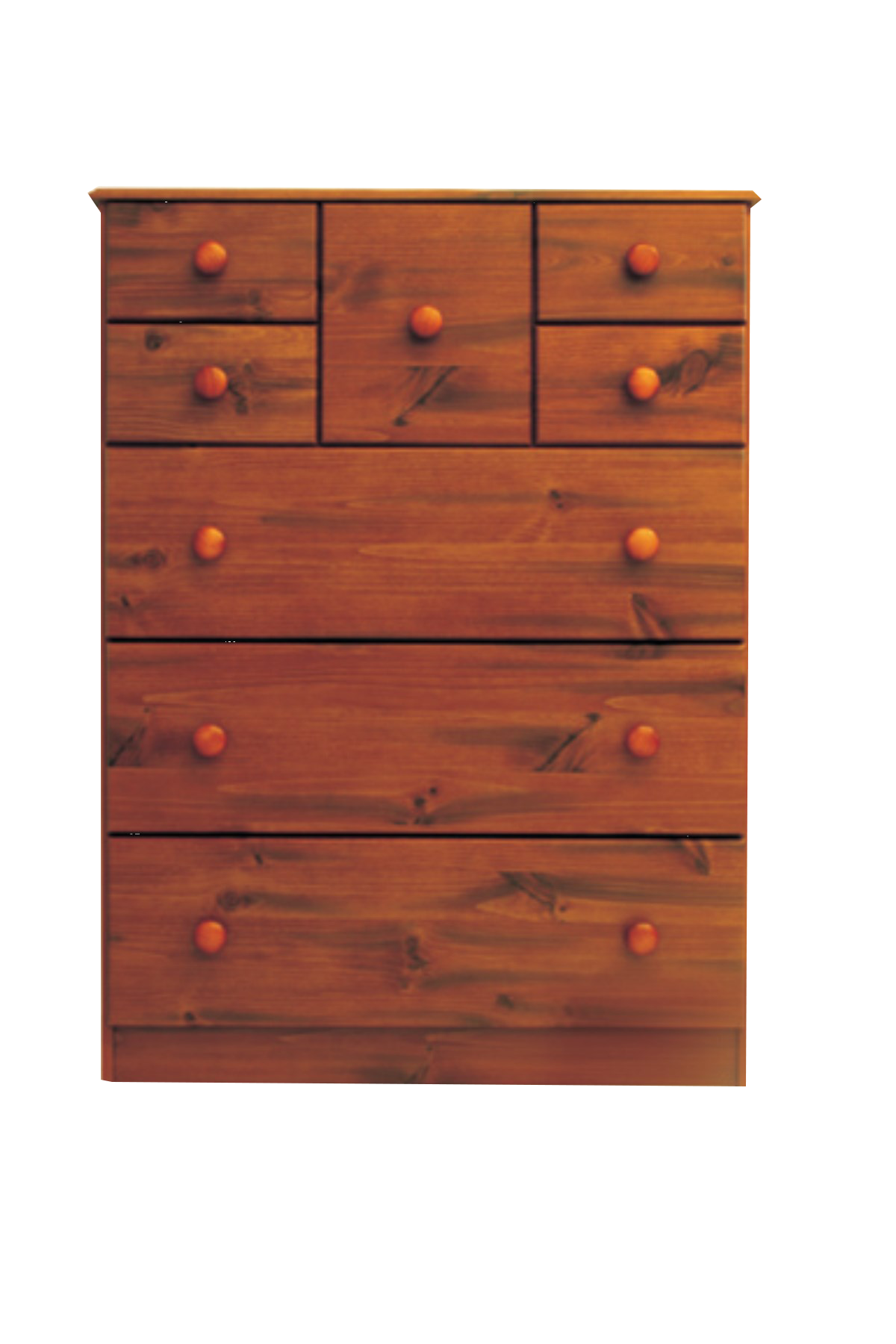 hunter hills            8 drawer scotch chest