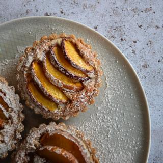 Nectarine & Frangipane Tarts