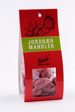 Jordbær Mandler