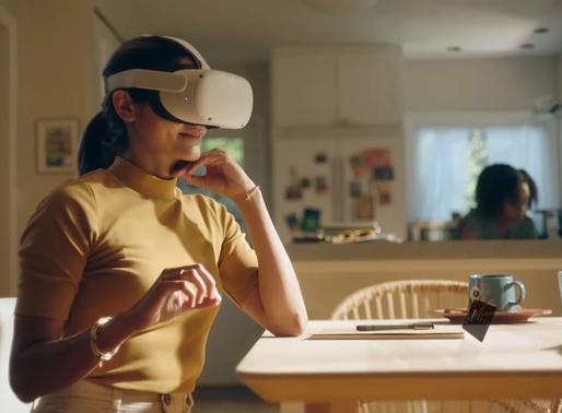 La experiencia de realidad virtual de Facebook en esta era. Infinite Office.