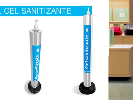 ¡Descubre los lugares correctos para colocar dispensadores de gel antibacterial!