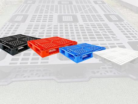 ¡Descubre los tipos de tarimas de plástico!