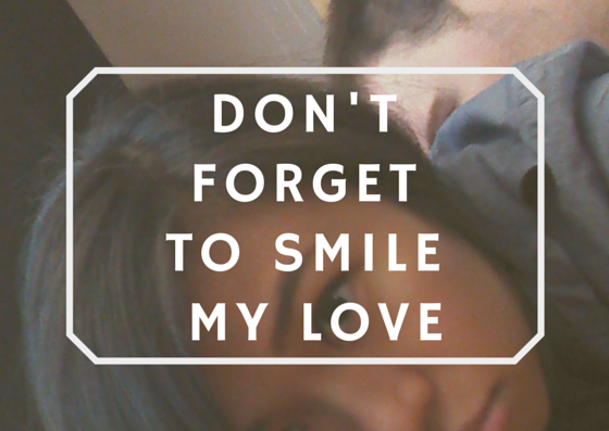 To the boy who smiled,
