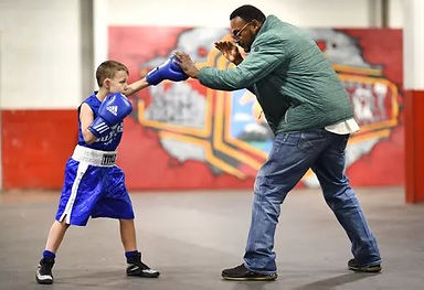 Boxing with Kid.JPG