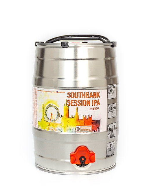 Southbank Session IPA 5lt mini keg