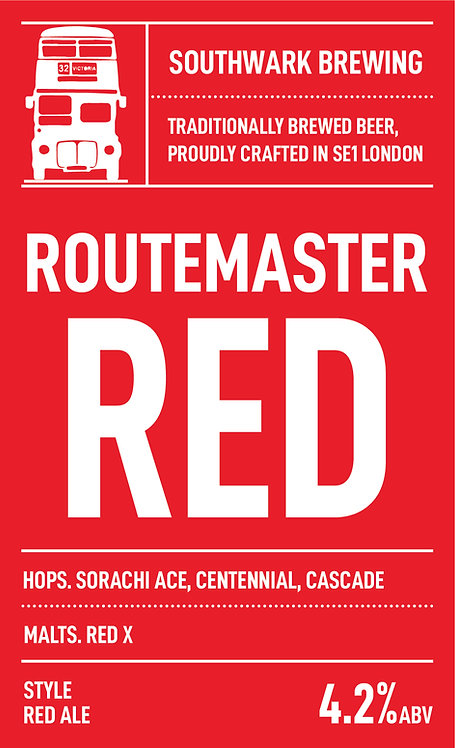 Routemaster Red Amber Ale