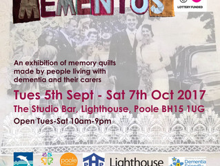 Mementos Exhibition, come and see the work by Prama carers and people living with Dementia