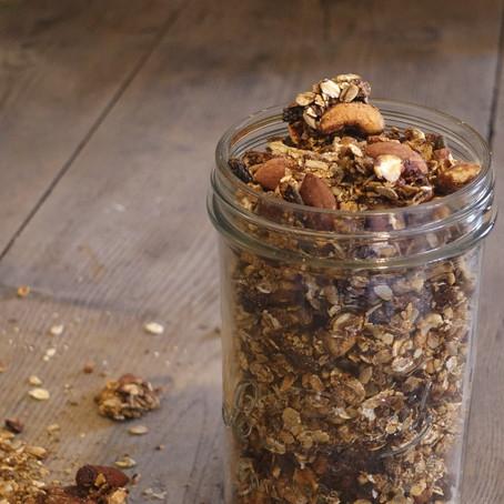 Recette | Granolas aux noix caramélisées