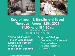 OIC's Young Adult Reentry Program Recruitment & Enrollment Event