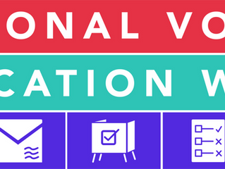 National Voter Education Week – Oct 4-8