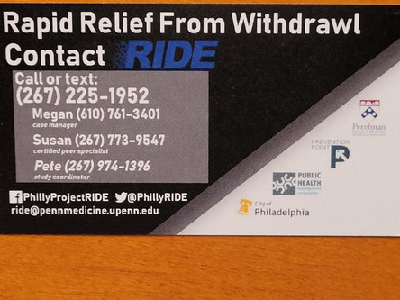 "New Coalition Member ""Project RIDE"" Offers Medication-Assisted Treatment via a Mobile Work Center"