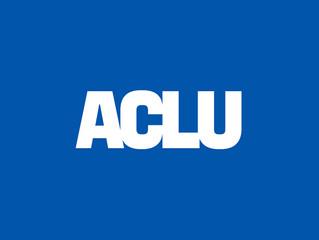 ACLU Seeking Consultants for 2019-2020 - Deadline September 13th