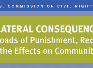 US Commission of Civil Rights Releases Report Investigating The Rippling Effects of Punishment on Co