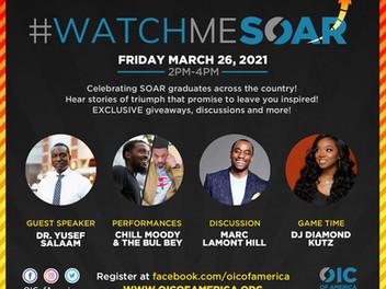 OIC of America Hosting Virtual SOAR Graduation Ceremony - March 26th