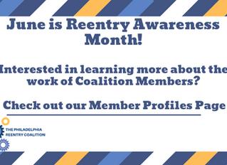 Philadelphia Reentry Coalition Reentry Month Member Profiles
