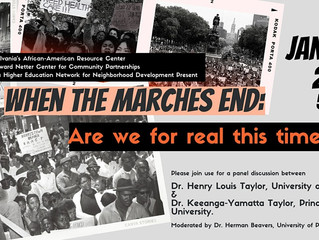 Webinar: After the Marches End, Are We For Real This Time - January 28th