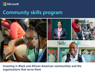 Funding Available: Microsoft Accepting Applications for Community Skills Program