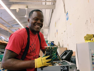PAR-Recycle Works Continues to Collect E-waste and Transform Lives At Its New Hunting Park Facility
